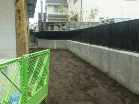 小学校のブロック塀改修