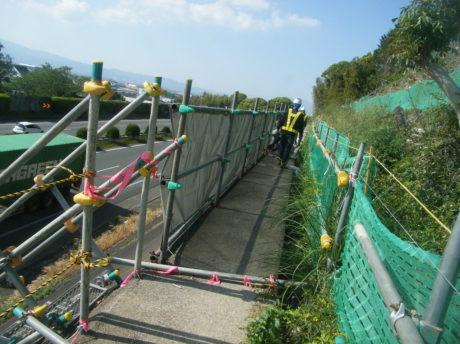 久留米防護柵設置工事