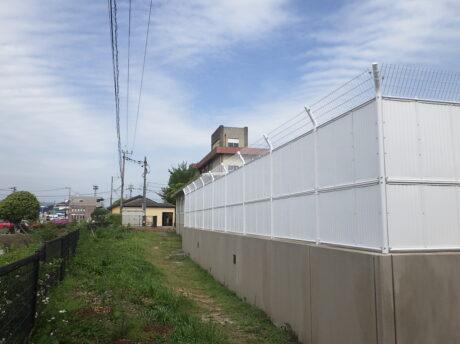 小学校プールフェンス改修工事