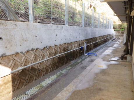 芳野コミュニティ防護柵設置工事